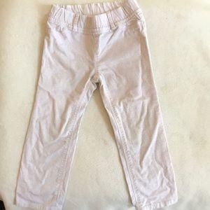Baby gap 3T sparkling pink corduroy pants